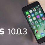 ios 10.0.3 برای حل مشکلات شبکه آیفون ۷ منتشر شد