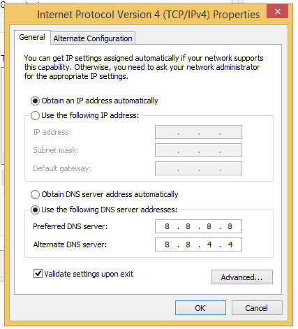 آموزش تغییر DNS برای بهبود سرعت اینترنت