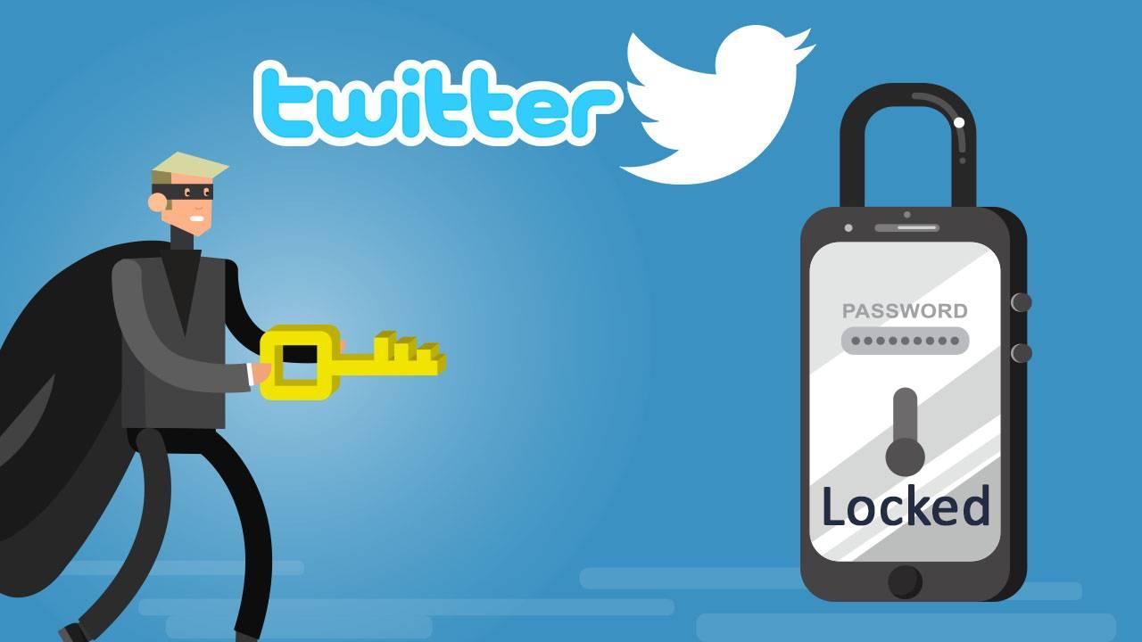 توییتر میلیون ها حساب خود را به دلایل امنیتی قفل کرد