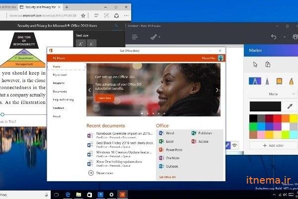 امکان کنترل صوتی ویندوز، ایمیل ها و انواع نرم افزارها