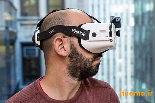 عرضه هدست جدید برای ترکیب اشیای مجازی با جهان واقعی