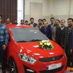 پلتفرم خودروی ملی رونمایی شد
