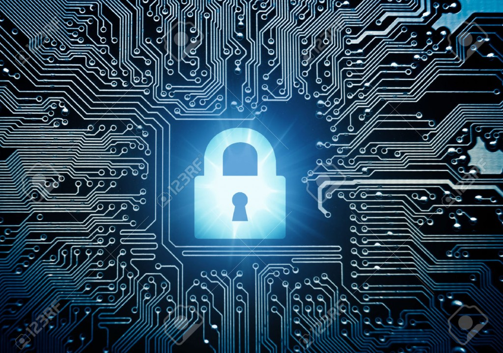 29349432-security-lock-symbol-on-computer-circuit-board-Stock-Photo-hacker