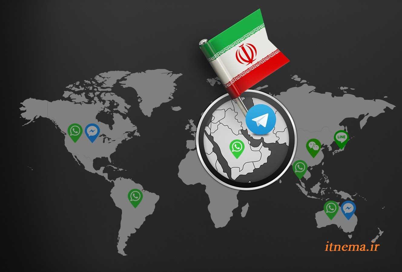 انتقال سرور های تلگرام به داخل کشور بی فایده است