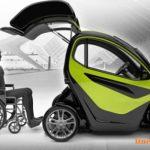 خودرو ویژه معلولین ارایه شد