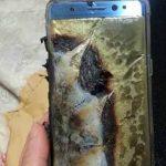 منفجر شدن گلکسی نوت Galaxy Note7 هنگام شارژ