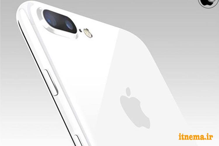 آیفون ۷ اپل در رنگ سفید براق در راه است