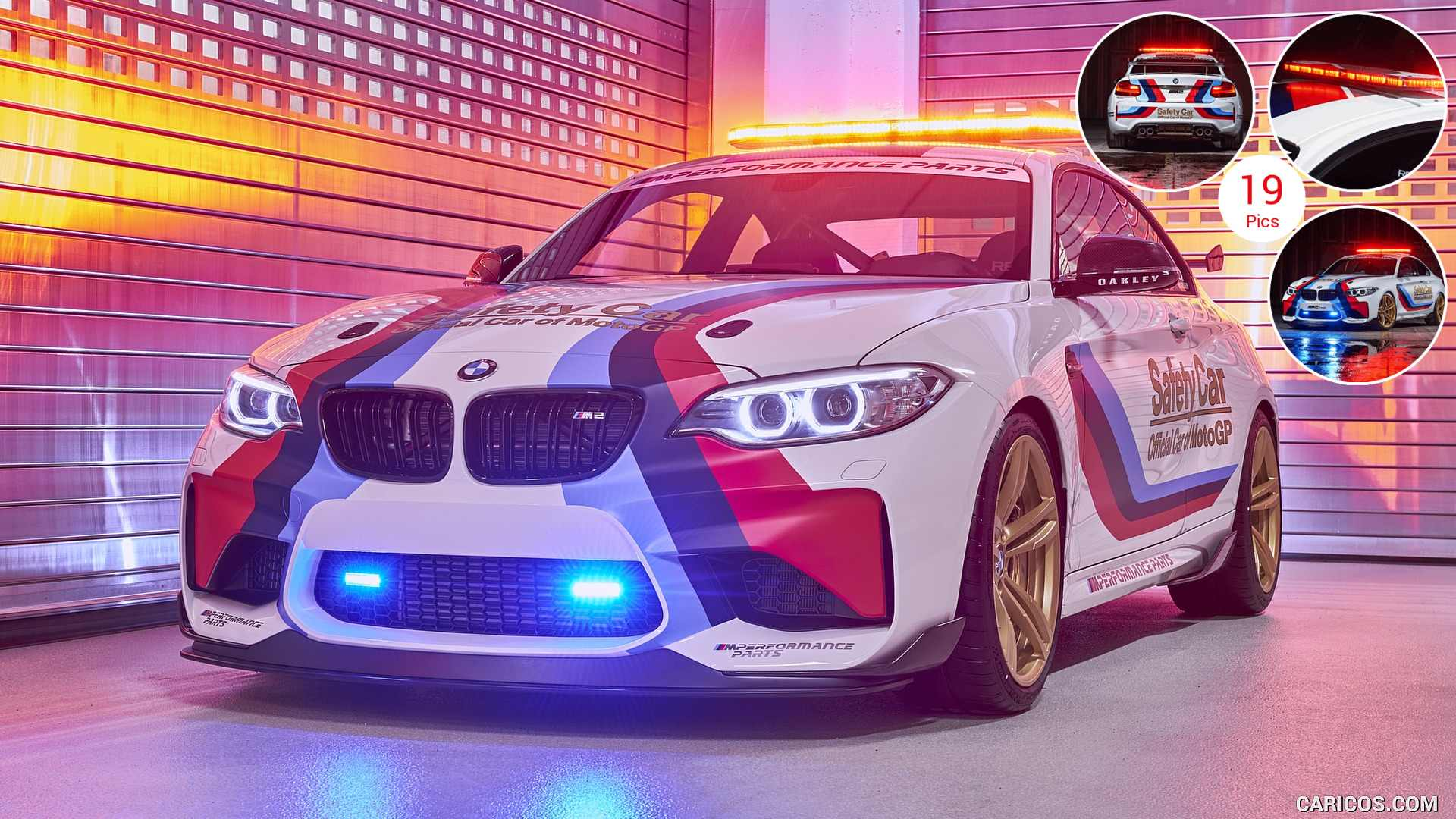 BMW M2؛ خودروی ایمنی جدید مسابقات موتوجیپی