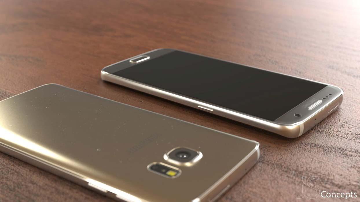 تصویری از نسخه طلایی Galaxy s7 فاش شد