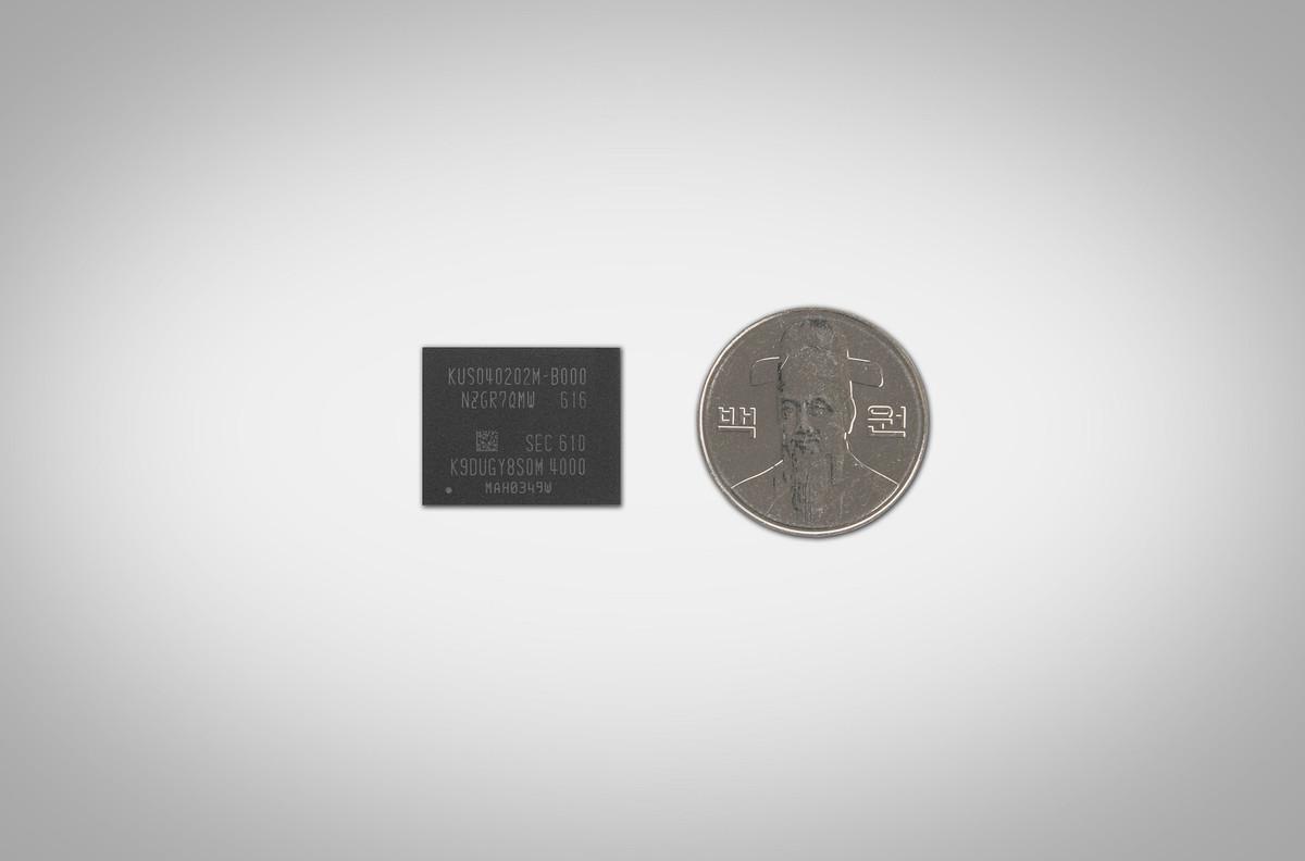 سامسونگ SSD جدیدی با ظرفیت ۵۱۲ گیگابایت به وزن یک گرم و اندازه یک سکه تولید کرد